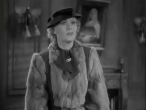 Drue Leyton dans le film policier américain Charlie Chan in London (1934) d'Eugene Forde