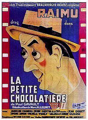 Affiche du film La petite chocolatière (1932) de Marc Allégret