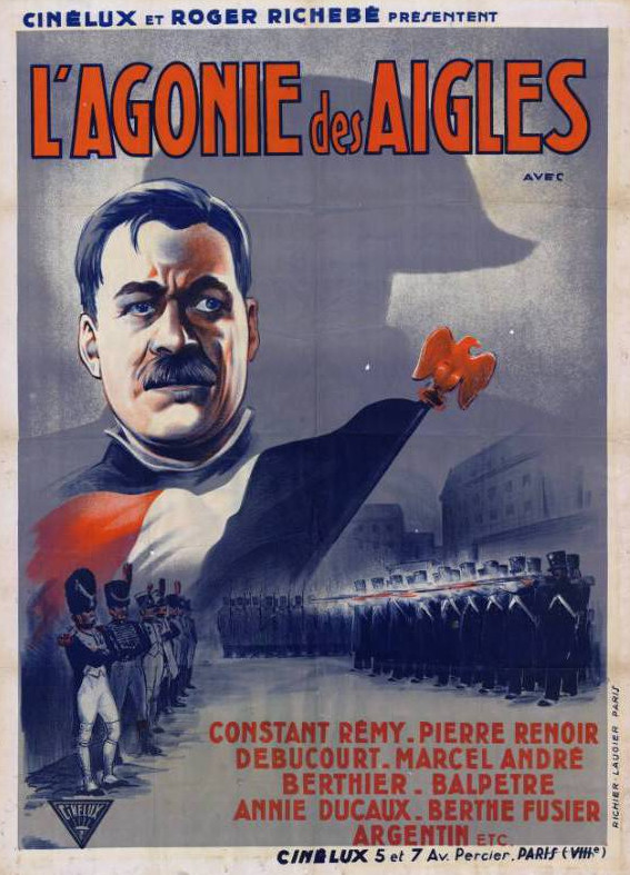 Affiche du film L'agonie des aigles (1933) de Roger Richebé