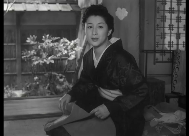木暮実千代 (Michiyo Kogure) dans 祇園囃子 (Les musiciens de Gion, 1953) de 溝口 健二 (Kenji Mizoguchi)
