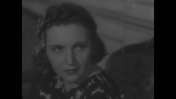 L'actrice Marie Bell dans le film Le roman d'un jeune homme pauvre (1935) d'Abel Gance