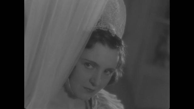L'actrice Marie Bell dans Le roman d'un jeune homme pauvre (1935) d'Abel Gance