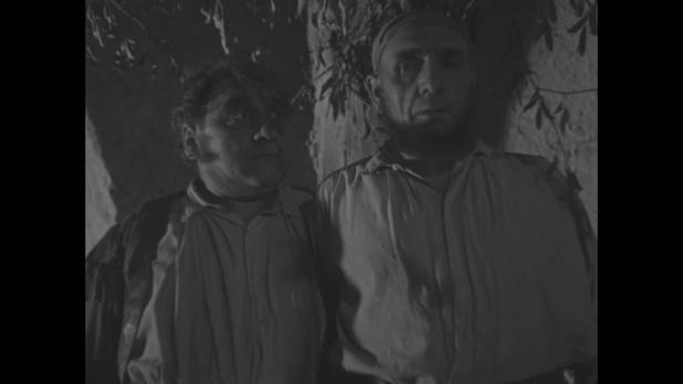 Marcel Delaître et Jean Fleur.dans Le roman d'un jeune homme pauvre (1935) d'Abel Gance