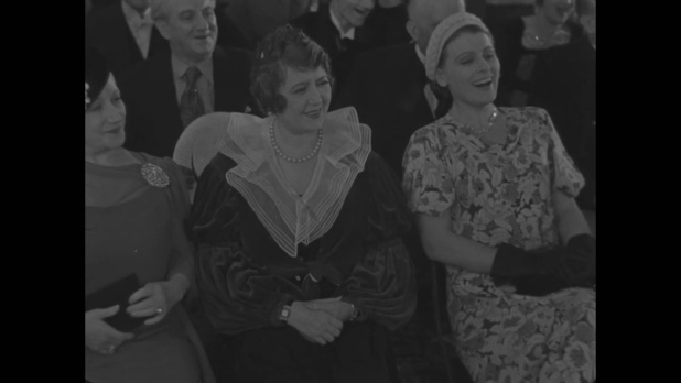 L'actrice  Marcelle Praince dans le film français Le roman d'un jeune homme pauvre (1935) d'Abel Gance