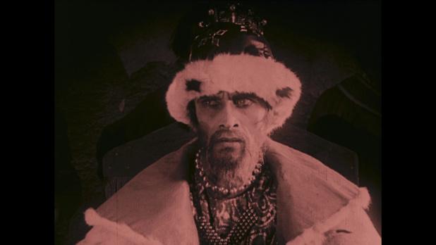 Conrad Veidt dans le film muet Das Wachsfigurenkabinett (Le cabinet des figures de cire, 1924) de Paul Leni
