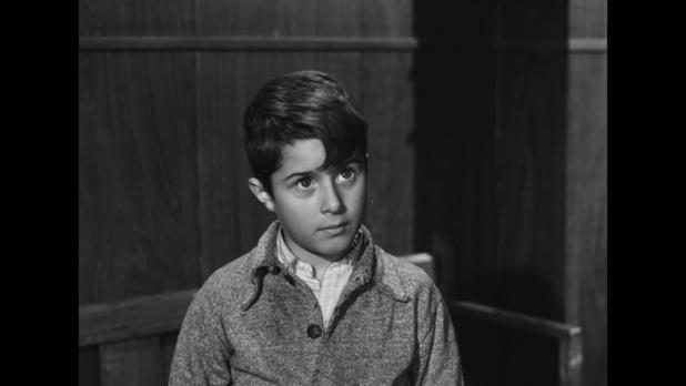 Miguelito Gil dans le film Malinconico autunno (1958) de Raffaello Matarazzo