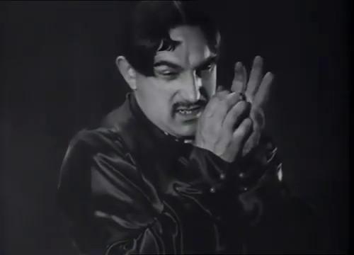 Charles Vanel dans La maison jaune de Rio (1931) de Karl Grune