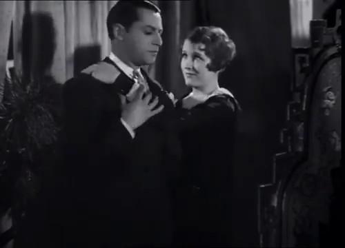 Jacques Maury et Hélène Robert dans La maison jaune de Rio (1931) de Karl Grune