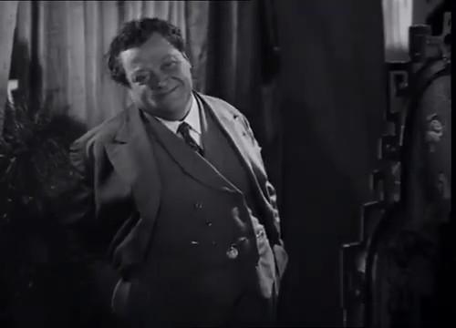 L'acteur Edouard Hardoux dans La maison jaune de Rio (1931) de Karl Grune