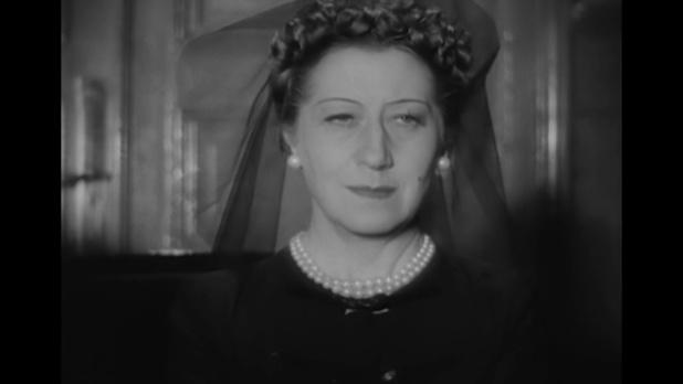 Gabrielle Dorziat dans le film La dame de Malacca (1937) de Marc Allégret