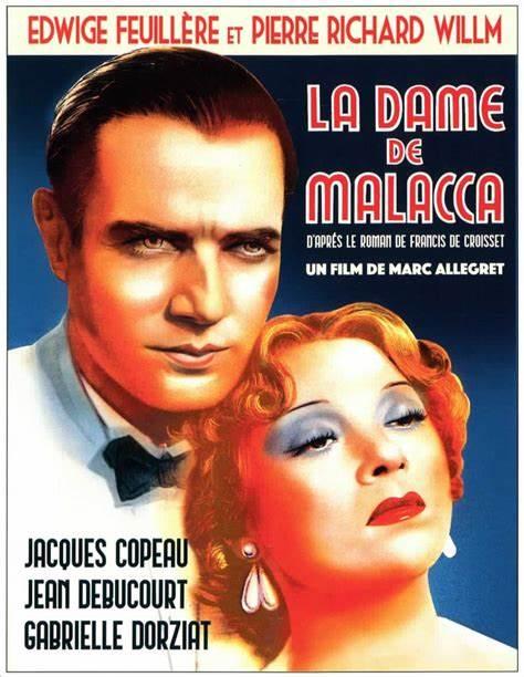 Affiche du film La dame de Malacca (1937) de Marc Allégret
