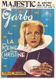 La reine Christine, interprétée par Greta Garbo