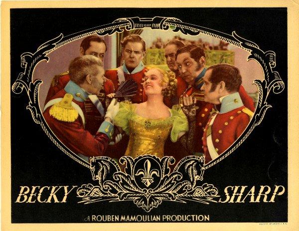 Affiche du film Becky Sharp, de Mamoulian