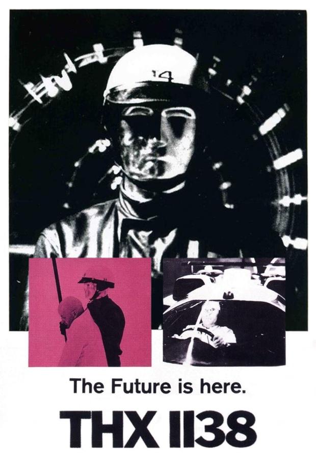 Affiche du film THX1138 de George Lucas