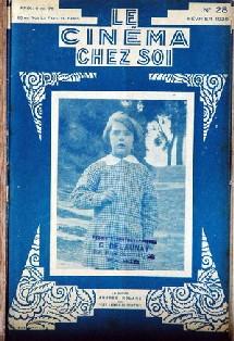 Le cinéma chez soi, numéro de février 1929