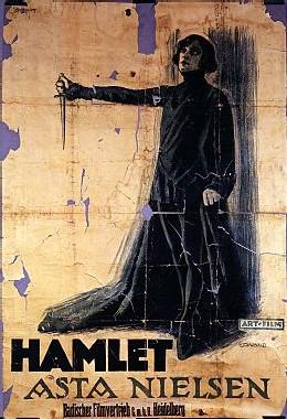 Une affiche de Hamlet