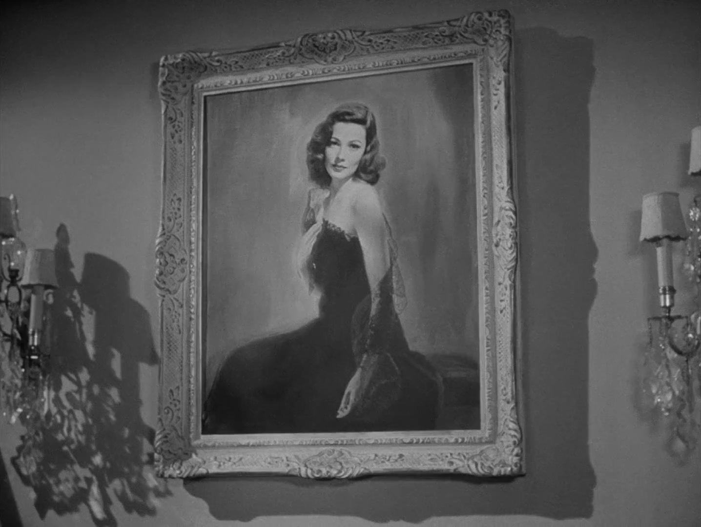 Le portrait de Laura dans le film Laura (1944) d'Otto Preminger