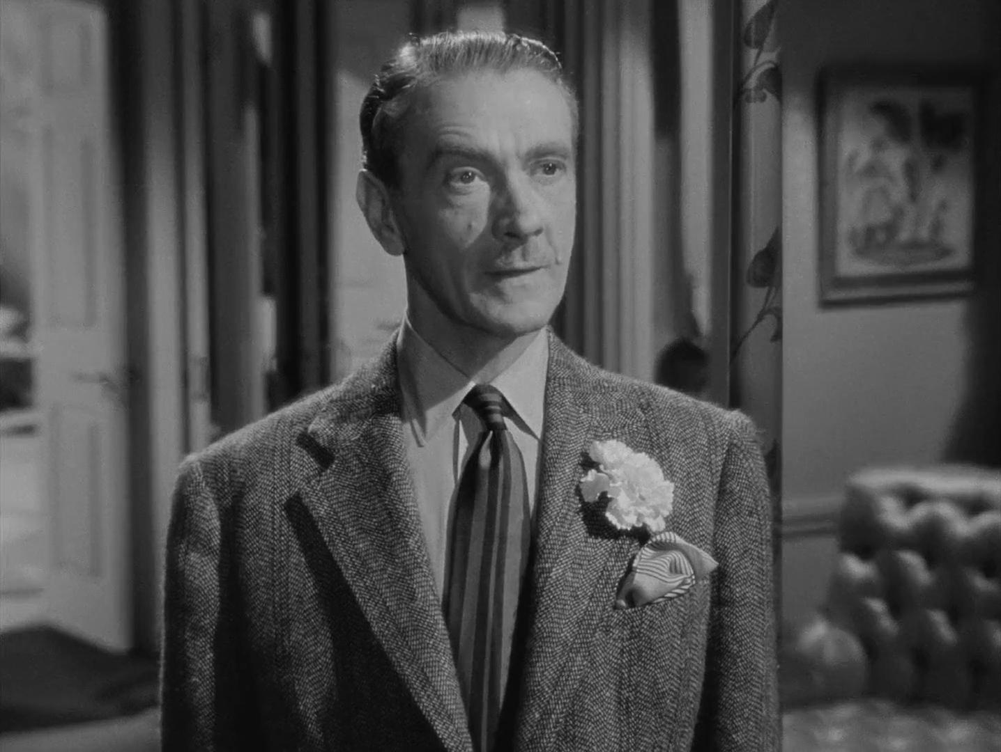 Clifton Webb dans le film noir Laura (1944) d'Otto Preminger