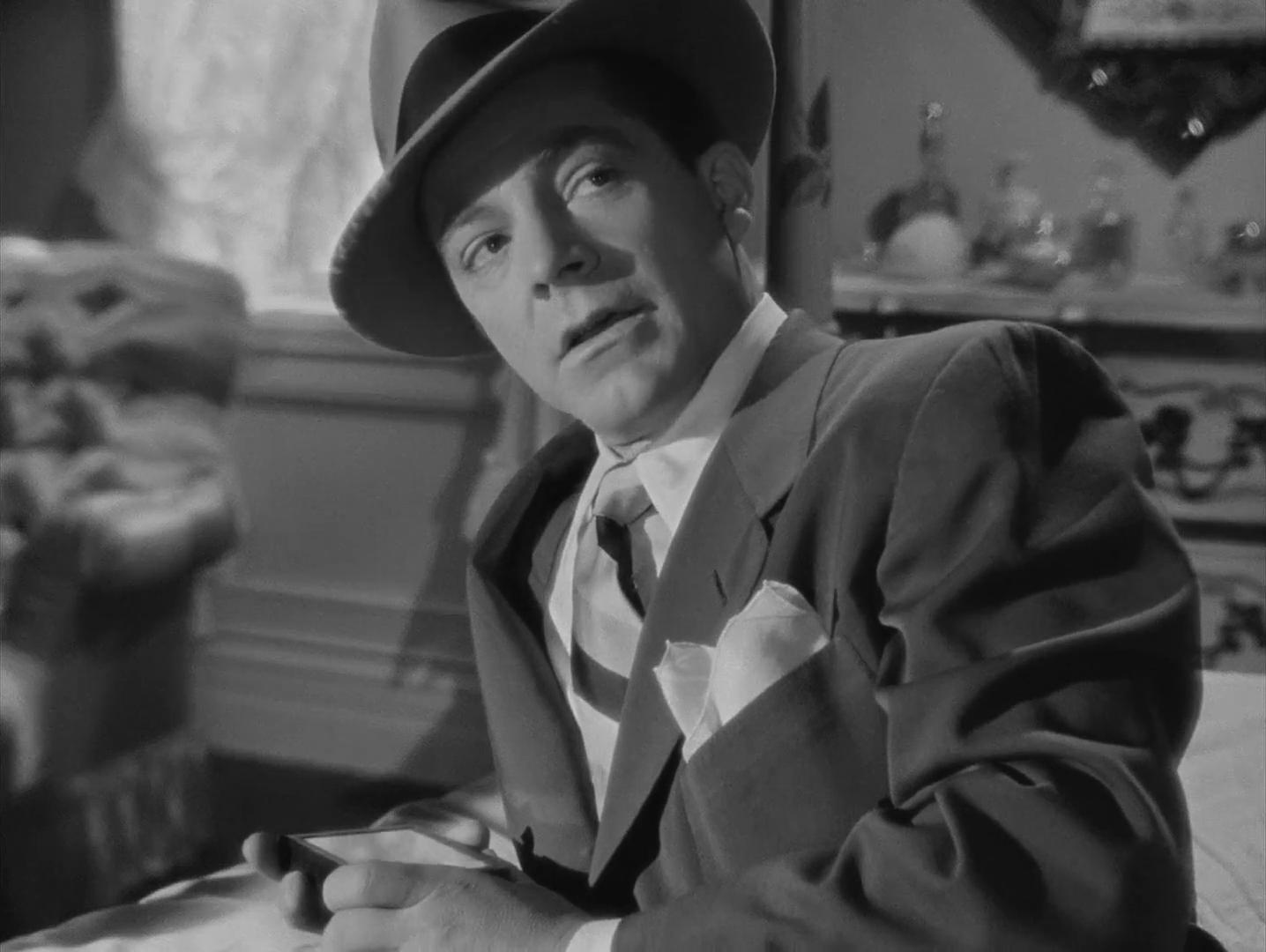 Dana Andrews dans Laura (1944) d'Otto Preminger