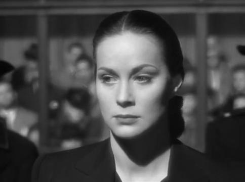 Alida Valli dans le film The Paradine case (Le procès Paradine, 1947) d'Alfred Hitchcock