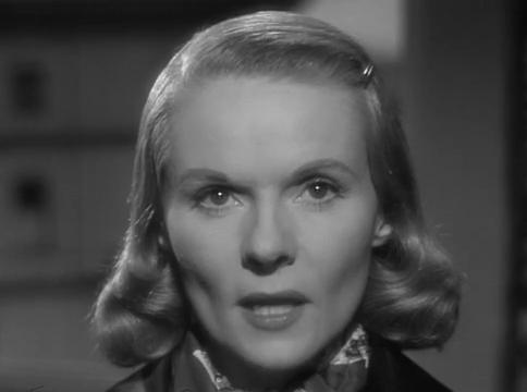 Ann Todd dans The Paradine case (Le procès Paradine, 1947) d'Alfred Hitchcock