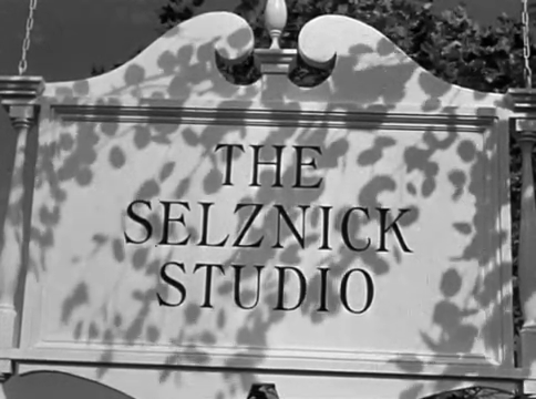 Générique du film The Paradine case (Le procès Paradine, 1947) d'Alfred Hitchcock
