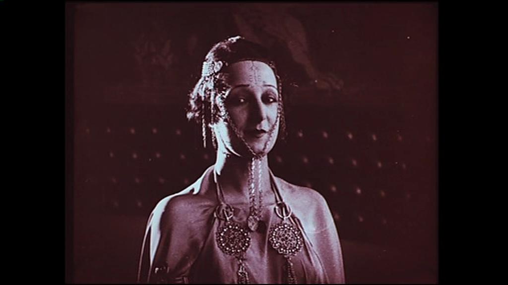L'Atlantide (1921) de Jacques Feyder : Saint-Avit et Morhange rencontrent Antinéa