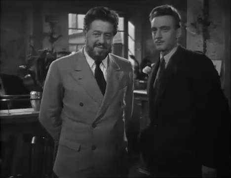 Non coupable (1947) de Henri Decoin : Ancelin déclare être le meurtrier