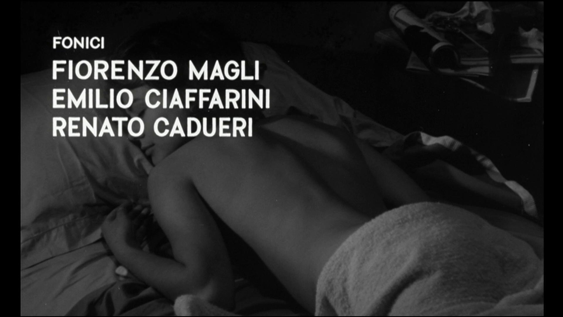 Laura nuda (1961) de Nicolò Ferrari : la fin (HD)