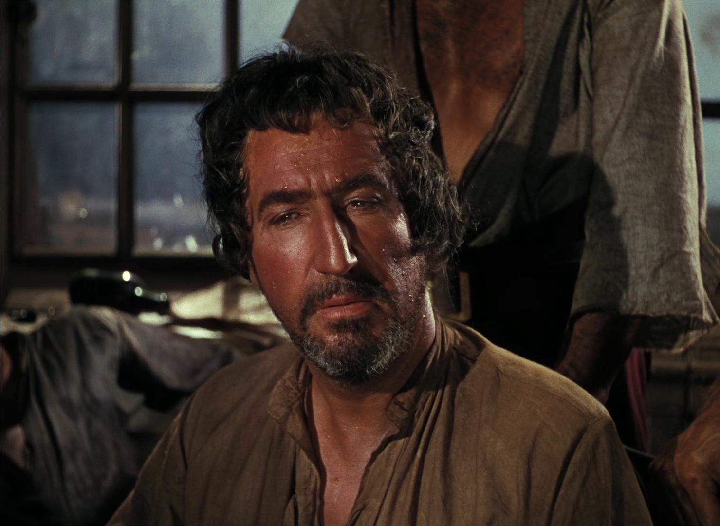 Treasure island (L'île au trésor, 1950) de Byron Haskin : Jim a vent du projet de mutinerie (HD)