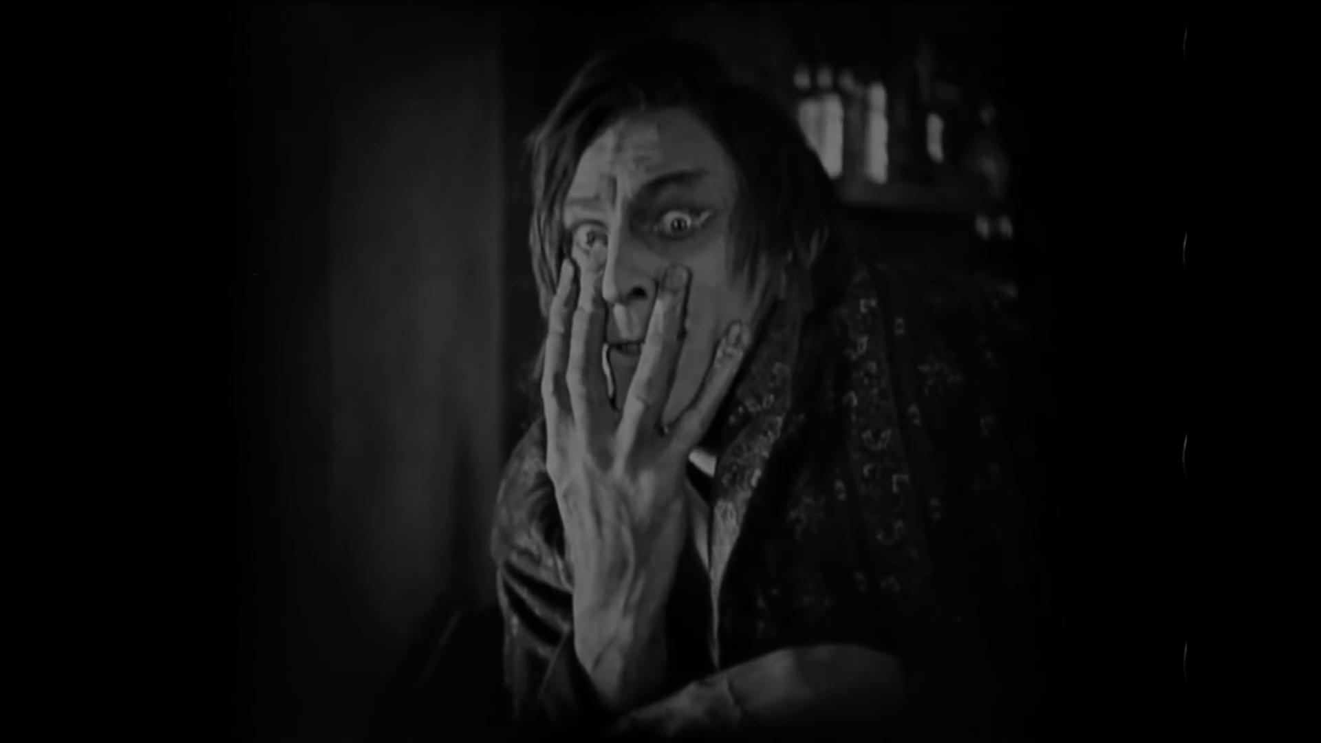 John Barrymore est Hyde dans Dr. Jekyll and Mr. Hyde (Docteur Jekyll et M. Hyde, 1920) de John S. Robertson