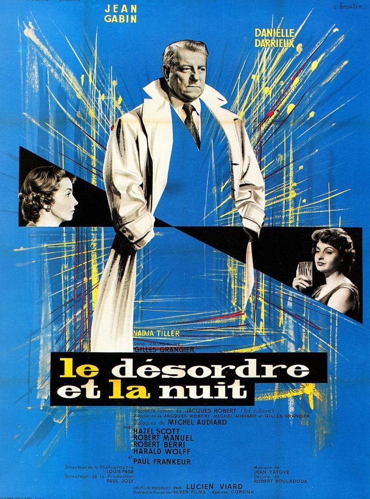 Affiche du film Le désordre et la nuit