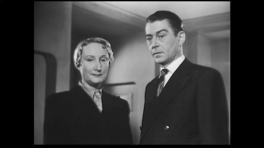Le furet (1950) de Raymond Leboursier : Le meurtre dans la boule de cristal; et Wens démasque le coupable
