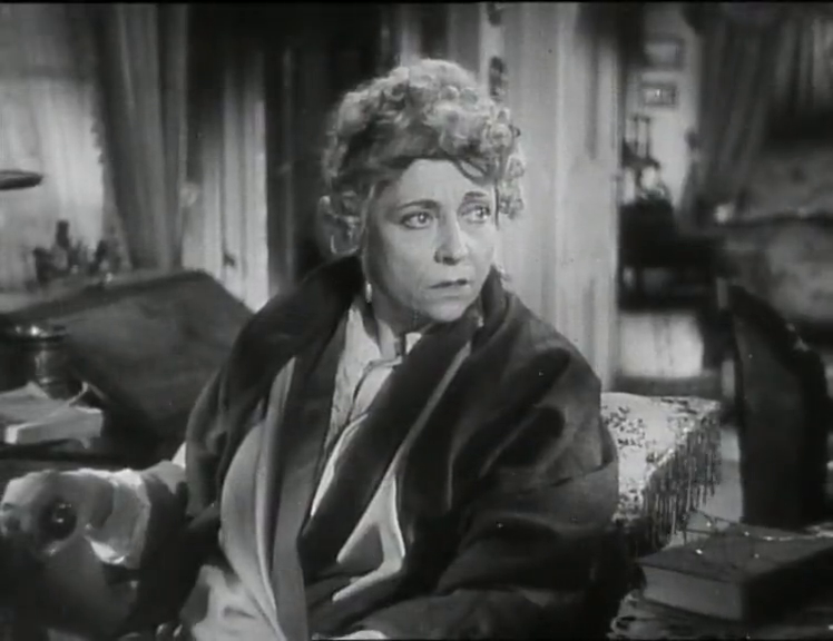 Cécile est morte (1944) de Maurice Tourneur : une femme décapitée