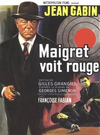 Maigret voit rouge (1963) de Gilles Grangier : Maigret interroge Lily