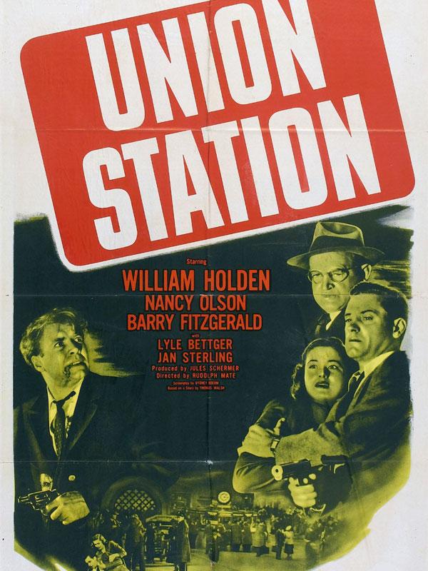 Union Station (Midi, gare centrale, 1950) de Rudolph Maté : la poursuite dans les tunnels (HD)