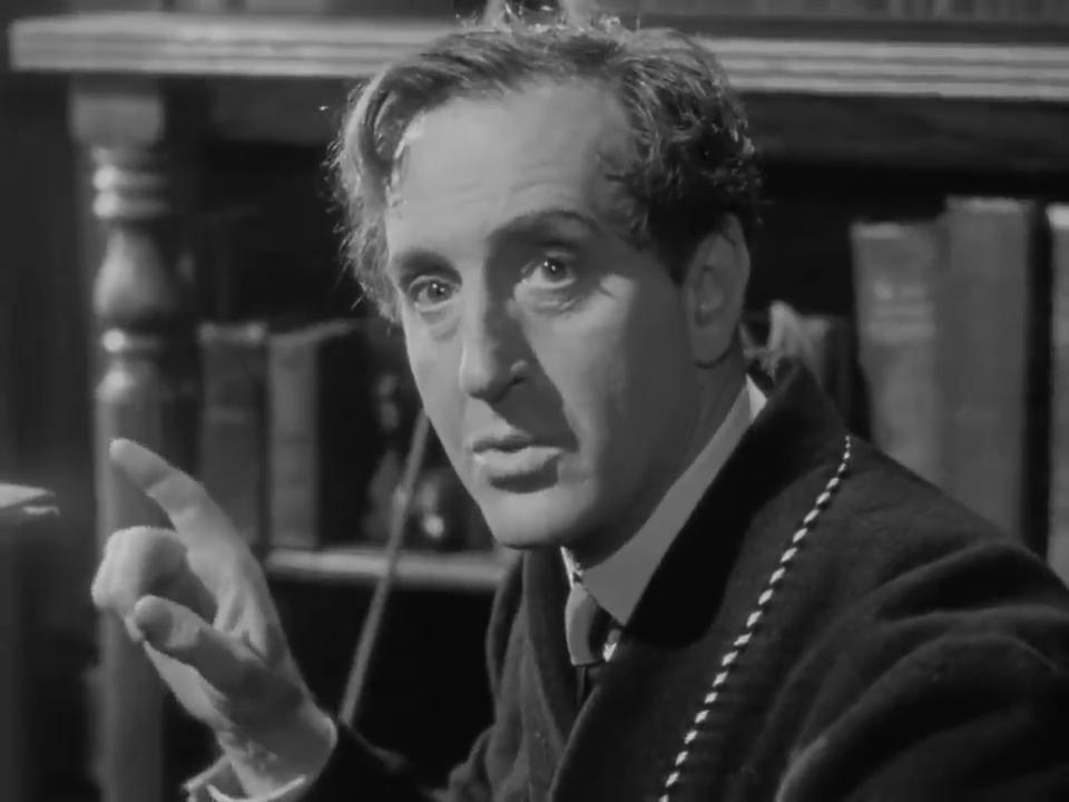 Basil Rathbone dans Sherlock Holmes and the voice of terror