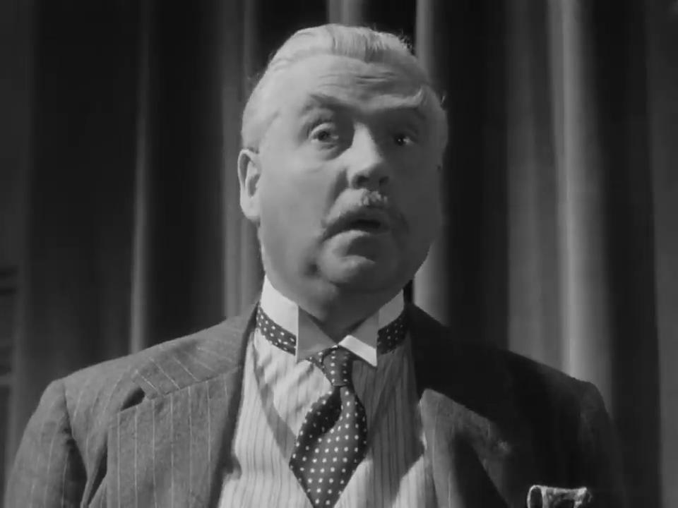 Nigel Bruce dans le film Sherlock Holmes and the voice of terror