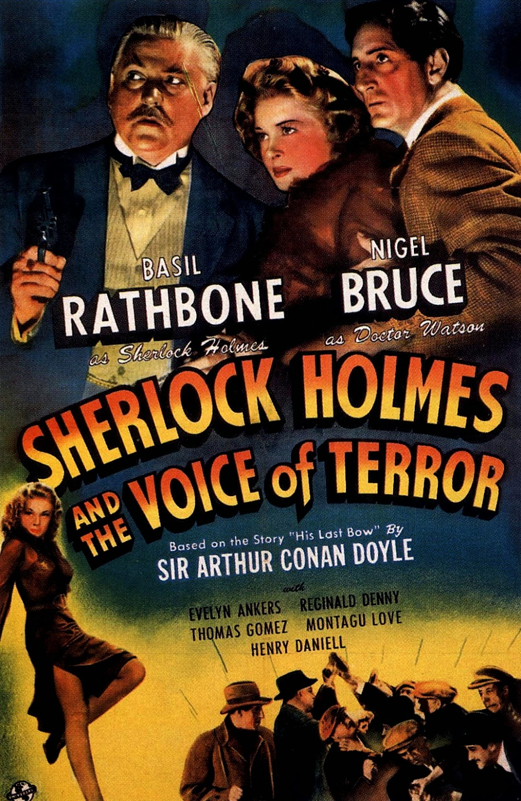 Affiche du film Sherlock Holmes and the voice of terror