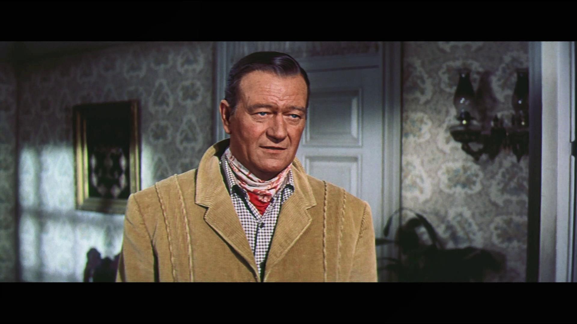 Mc Lintock ! (Le grand Mc Lintock, 1963) d'Andrew V. Mc Laglen : le cow-boy met une raclée à son épouse (HD)