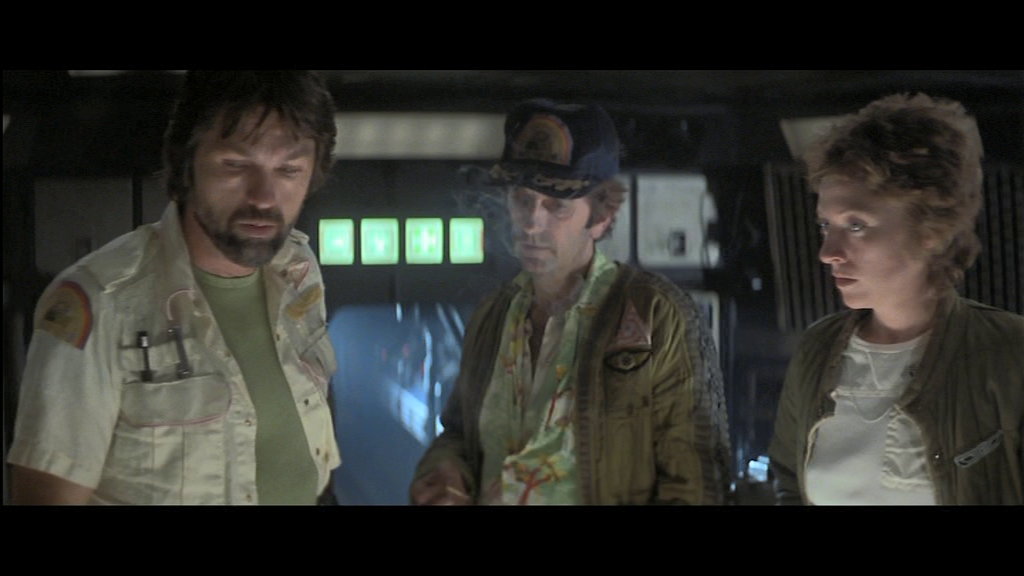 Alien (Alien, le huitième passager, 1979) de Ridley Scott : les étranges oeufs; et la créature