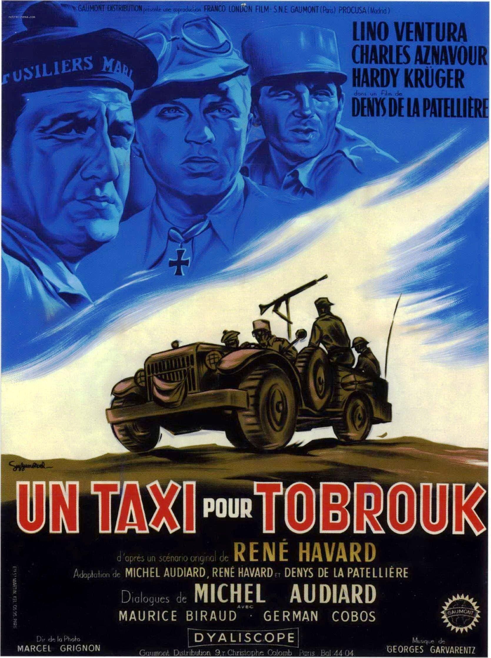 Un taxi pour Tobrouk (1961) de Denys de La Patellière : l'Allemand prisonnier (HD)