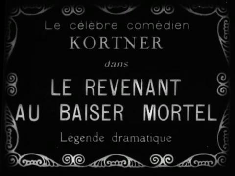 Le revenant au baiser mortel (1922 ?) : la vengeance du trépassé