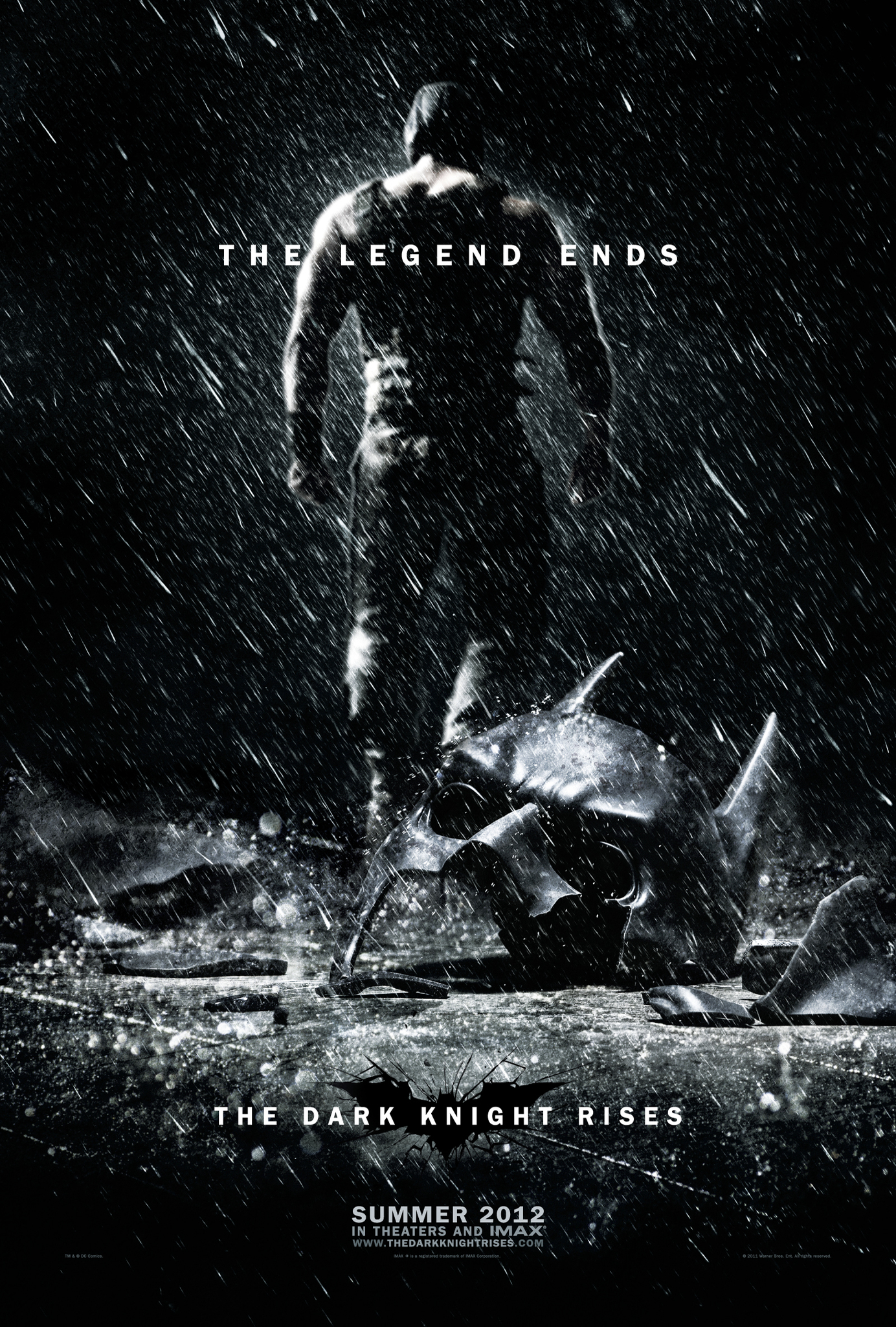 The Dark Knight rises (2012) de Christopher Nolan : Batman en pleine course-poursuite (HD)