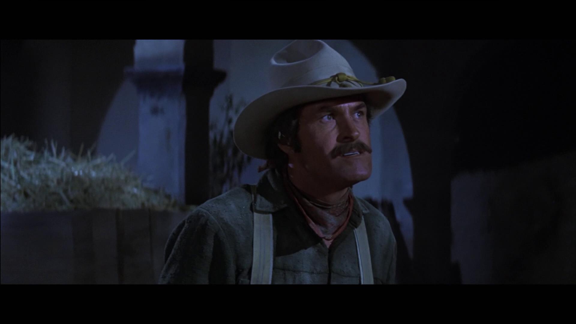 Big Jake (1971) de George Sherman : voitures et moto contre chevaux; et le règlement de comptes (HD)