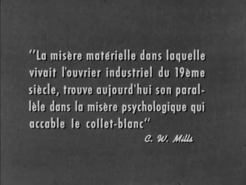 Les mains nettes (1958) de Claude Jutra : la revue du personnel; et l'angoisse de Marguerite