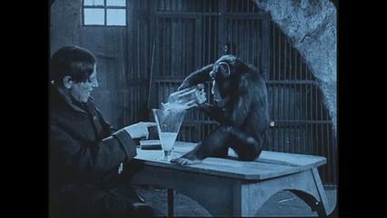 Le manoir de la peur (L'homme noir, 1924) d'Alfred Machin et Henry Wulschleger : Cagno démasqué