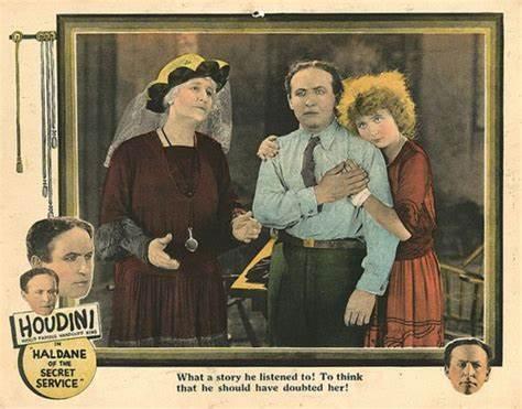 Affiche du film Haldane of the secret service