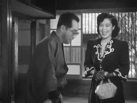 Nijiko Kiyokawa dans le film Monsieur Shosuke Ohara (1949)