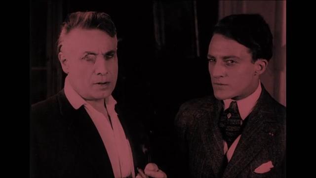 Séverin Mars et Jean Lorette dans le film muet Haceldama ou le prix du sang
